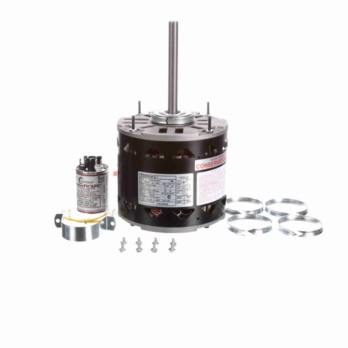 Century FDL6002A 1/5 to 3/4 HP 1075 RPM 115 Volt MasterFit Pro Motor Replaces Emerson 5470