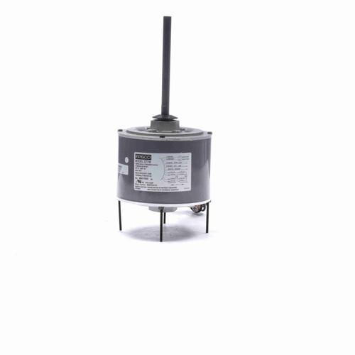 """Fasco D7748 1/3 HP 5 5/8"""" Diameter Condenser Fan Motor 208-230 Volts 1075 RPM"""