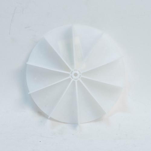 "Packard A64031FB Plastic Blower Wheel And Fan Blade 3/16"" Bore 4-1/2"" Diameter"