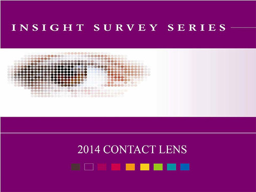 2014 Contact Lens Wearers Insight Survey