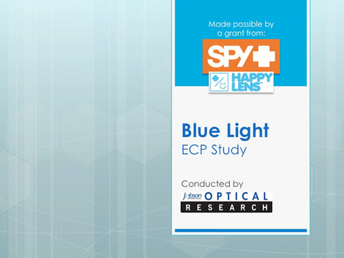 ECP Blue Light Study