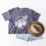 """-Gray -Bad Co Dice Graphic -Cropped -T-shirt Material: 100% Cotton  Clothing Measurements: Bust: 19"""" Length: 21"""" Sleeve Length: 9"""""""