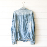 """-Silver Studs -Buttons -Collar -Pockets -Denim -Jacket  Size XXL  Material: 97% Cotton 3% Cotton  Clothing Measurements: Bust: 24"""" Length: 28"""" Sleeve Length: 27"""""""