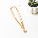 """-Gold -Chainlink -Choker -Comes in Silver -Lightweight  Length: 14-17"""""""