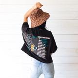 -Brown -Leopard Print -Black -Bucket Hat
