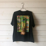 """-Black with Rugratz Print -Crew Neck -Full Length -Short Sleeve -T-Shirt  Size Extra Large  Material: 100% Cotton  Clothing Measurements: Bust: 42"""" Length: 26"""" Sleeve Length: 8"""""""