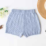 -Grey Color -Elastic Waist -Cable Knit Design -High Waisted -Lined -Bottoms -Shorts -Set  Material: 100% Polyester  BSET03034 SHORT GRY
