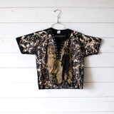 """-Black Color -The Cure """"Boys Don't Cry"""" Print -Extreme White Acid Wash -No Holes -Lace Up Front -Open V Neck -Oversized Fit -Raw Bottom -Tee Shirt  Size Small  Materials: 100% Cotton  Clothing Measurements: Bust: 17"""" Length: 19"""" Sleeve Length: 8"""""""