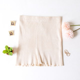 -Tan Color -Ribbed -Mid Thigh Length -Elastic Waistband -Matching Set (Bottoms) -Bike Shorts  Materials: 70% Viscose | 30% Polyester   W3126 SHORT TAN