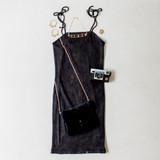 -Black Color -Acid Wash -Ribbed -Bodycon  -Tie Straps  -Fabric Stretches -Mini Dress  Materials: 95% Cotton | 5% Spandex  DZ21F294 DRESS BLK