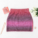 -Pink and Purple Colors -Sweater Material -High Waisted -Slim Fit -Elastic Waistband -Two Piece Set (Bottom) -Mini Skirt -Skirt  Materials: 58% Acrylic | 29% Polyester | 9% Nylon | 4% Wool  51353SYH SKIRT PNK