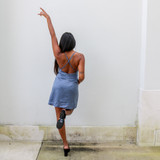 -Powder Blue Color -Spagetti Straps -Adjuustable Straps -Zipper Closure -Lined -Cowl Neck -Mini Dress  Materials: 200% Polyester  FS22A791 DRESS BLU