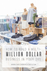 HOW TO BUILD A MULTI-MILLION DOLLAR BUSINESS IN YOUR 20S