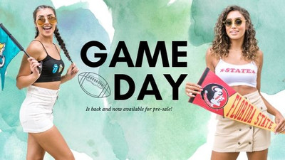 GAME DAY IS BACK!