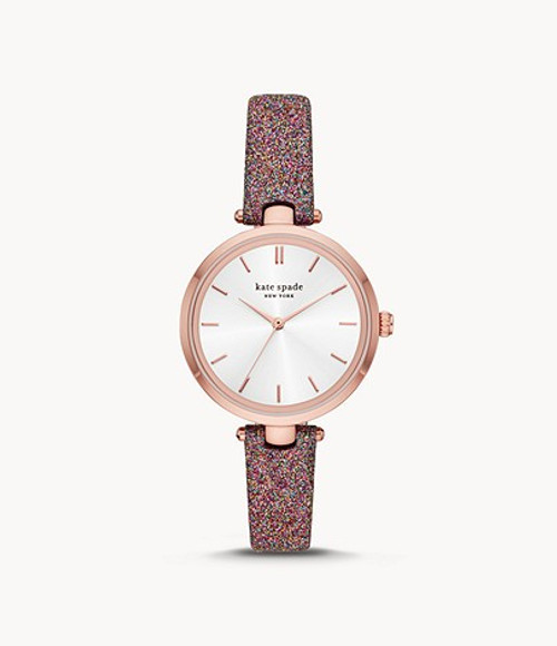 Kate Spade Watch with Glitter Band