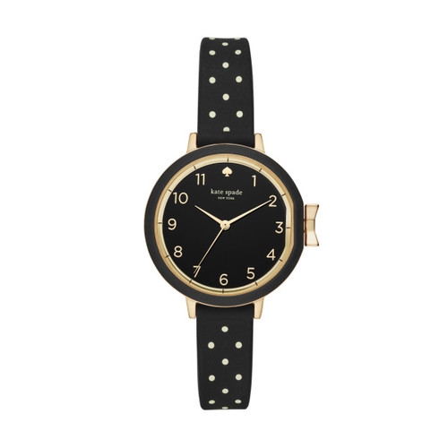 Kate Spade Watch with Polka Dot Silicone Band