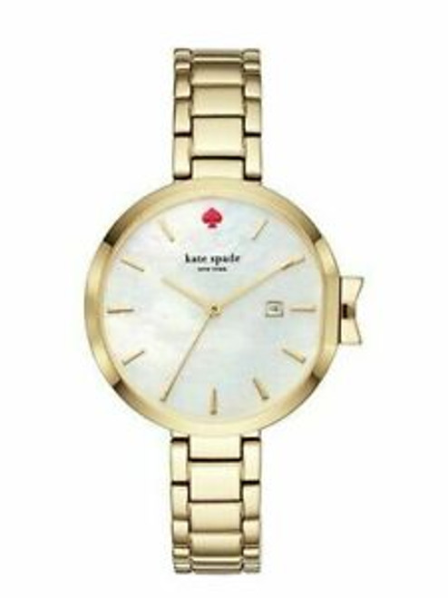 Kate Spade Stainless Steel Yellow Gold Plated Watch
