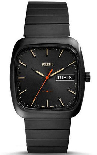 Fossil Rutherford All Black Stainless Steel Watch