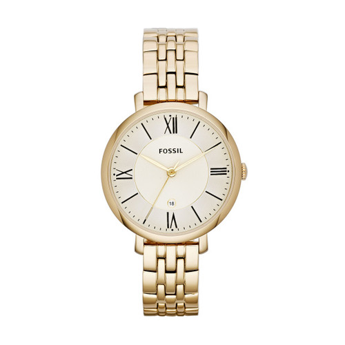 Fossil Jacqueline Gold-Tone Stainless Steel Watch
