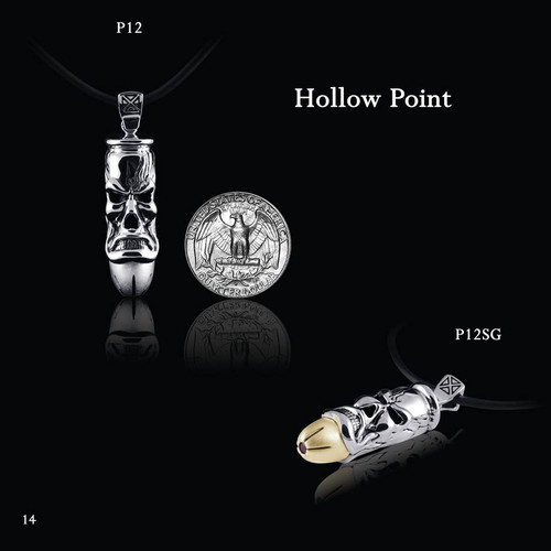 """""""Hollow Point"""" Necklace"""