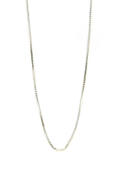 "22"" 14kt yellow gold franco chain {CHA-1162}"