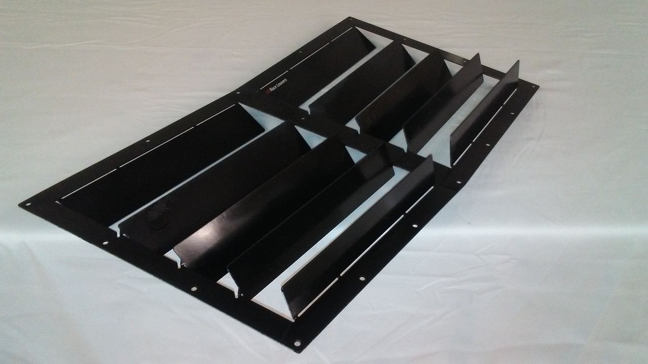 Race Louvers 02-19 Audi A4/S4 RX trim center racing heat extractor is designed for high performance driving, auto cross and track duty.