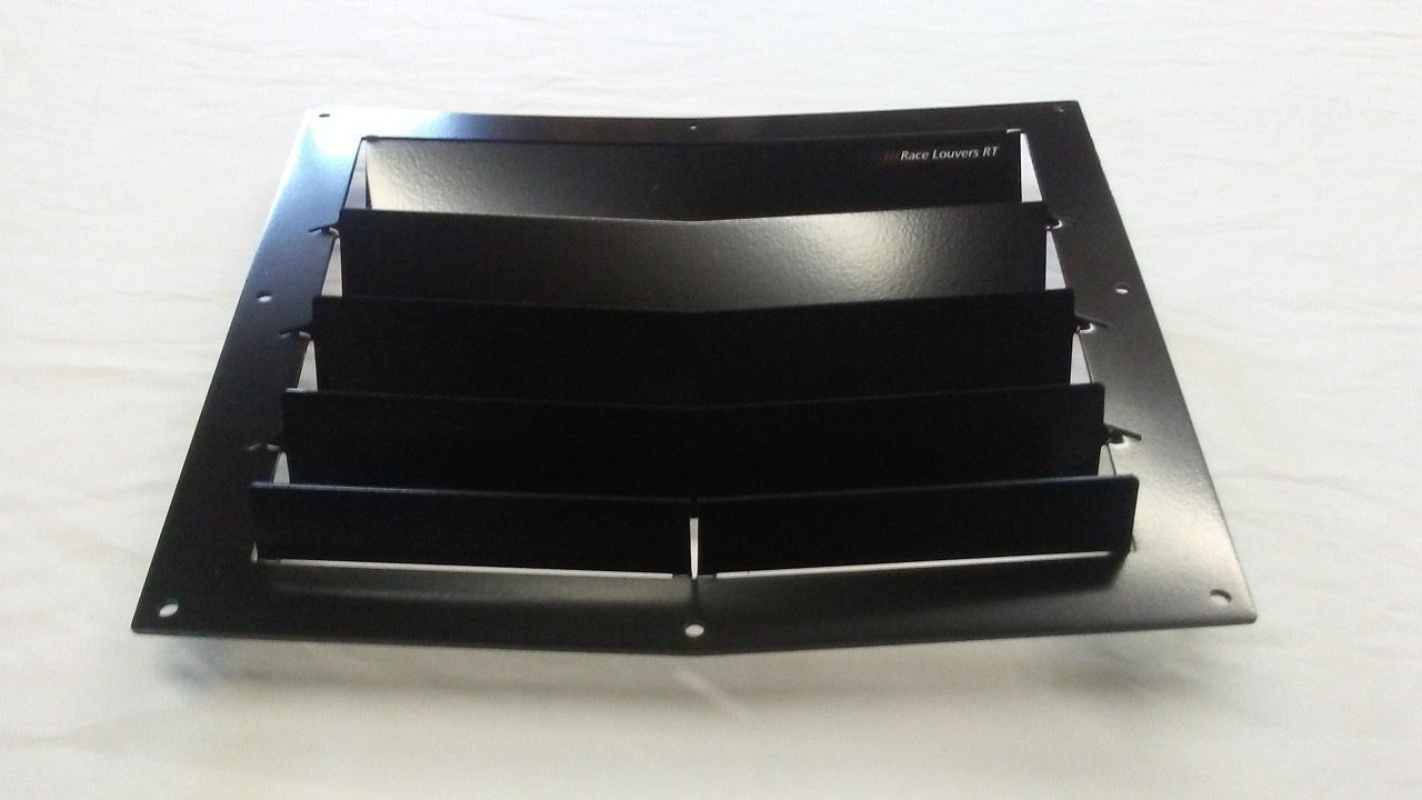 Race Louver RT track trim center car hood extractor is designed for street, high performance driving and track duty.