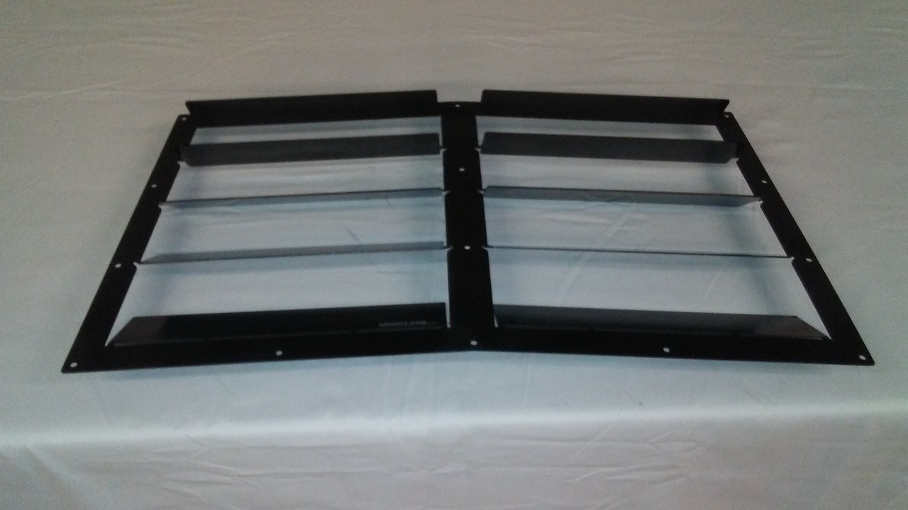 Race Louvers 300ZX RX Extreme Trim center racing heat extractor is designed for high performance driving, auto cross and track duty.