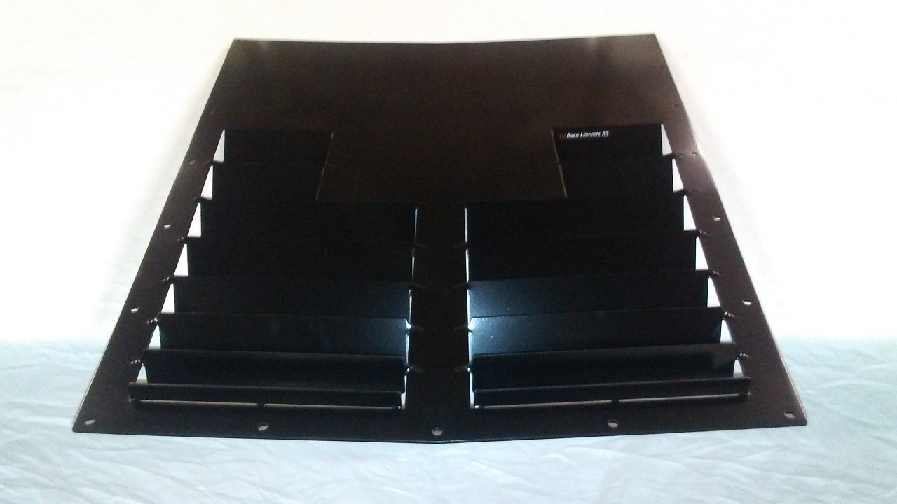 Race Louver RS street trim center hood vent designed for street, high performance driving and light track duty.