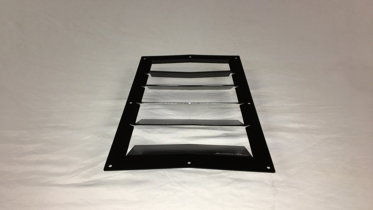 Race Louver Fiesta ST RS trim center car hood vent designed for street, high performance driving and light track duty.