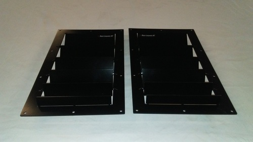 Race Louver RT trim straight pair car hood extractor is designed for street, high performance driving and track duty.