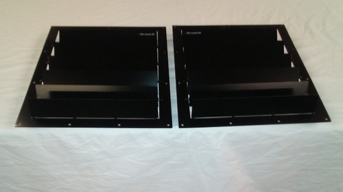 Race Louvers RX trim center pair racing heat extractor is designed for high performance driving, auto cross and track duty.