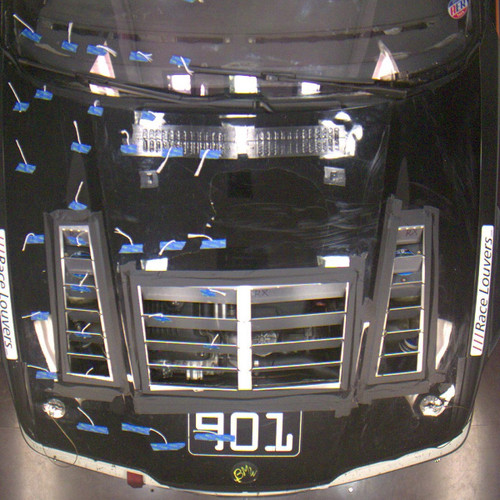 Race Louver 92-99 BMW E36 RT trim center car hood extractor is designed for street, high performance driving and track duty.