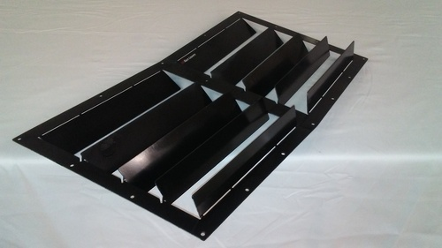 Race Louvers 92-99 BMW E36 RX trim center racing heat extractor is designed for high performance driving, auto cross and track duty.