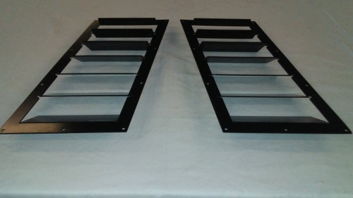 Race Louver BMW E30 84-91 RT trim mid pair car hood extractor is designed for street, high performance driving and track duty.