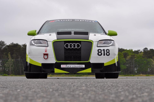 Race Louver Audi A4/S4 RS trim center car hood vent designed for street, high performance driving and light track duty.