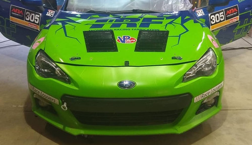 Race Louver BRZ/FR-S/86 RT trim mid pair car hood extractor is designed for street, high performance driving and track duty.
