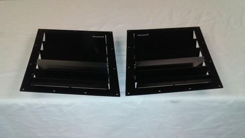 Race Louver 2000-2007 Ford Focus RT trim mid pair car hood extractor is designed for street, high performance driving and track duty.