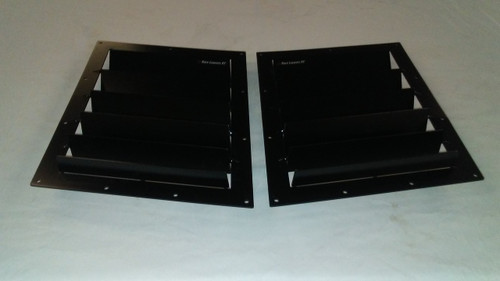Race Louver Ford Focus 2008-2011 RT trim straight angular pair car hood extractor is designed for street, high performance driving and track duty.