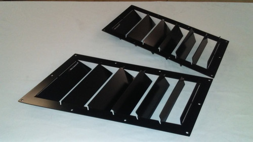 Race Louver Miata NC/ND RT track trim side pair car hood extractor is designed for street, high performance driving and track duty.
