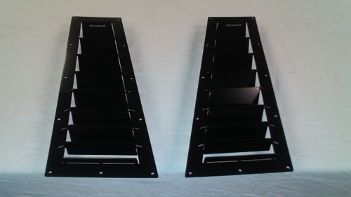 Race Louver BMW E36 RS street trim side hood vent designed for street, high performance driving and light track duty.