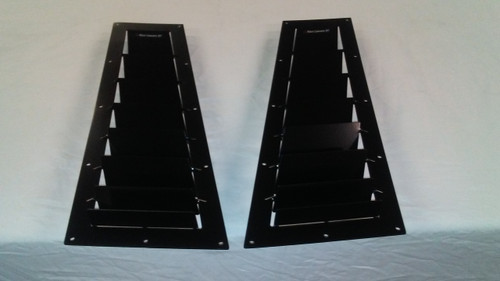 Race Louver BMW E36 RT track trim side hood extractor is designed for street, high performance driving and track duty.