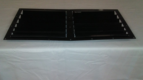 Race Louver RX7 86-91 RS trim center car hood vent designed for street, high performance driving and light track duty.