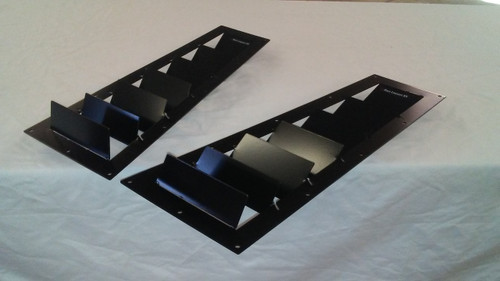 Race Louvers RX8 04-11 RX extreme trim side pair racing heat extractor is designed for high performance driving, auto cross and track duty.