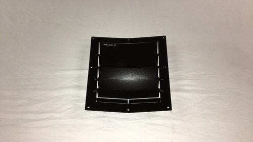 Race Louver RS trim center car hood vent designed for street, high performance driving and light track duty.