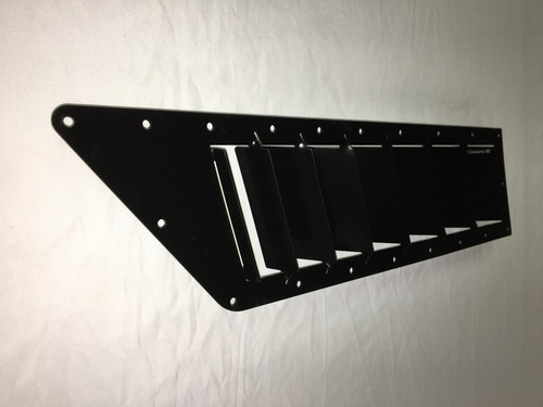 Race Louver RS trim car hood vent designed for street, high performance driving and light track duty.