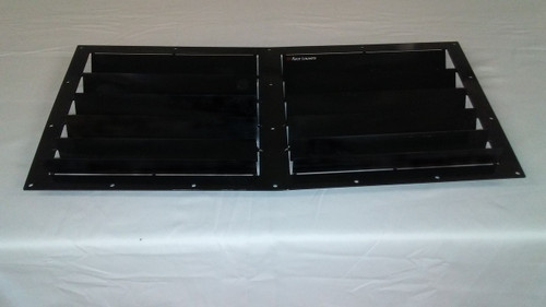 Race Louver Impreza RT trim center car hood extractor is designed for street, high performance driving and track duty.