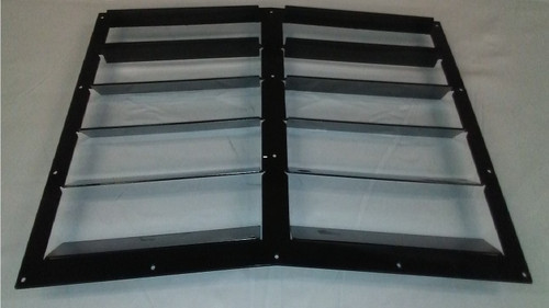 Race Louver BMW Impreza RS Street Trim center car hood vent designed for street, high performance driving and light track duty.