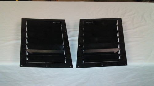 Race Louver Impreza RS trim mid pair car hood vent designed for street, high performance driving and light track duty.