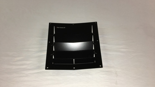 Race Louver BMW Z4 RT trim center car hood vent designed for street, high performance driving and light track duty.